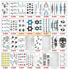 New Design Flash Tattoo Removable Waterproof Butterfly Stickers Body Art Tatoo $0.99 USD