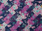 PAISLEY BIRD ~ COTTON FABRIC PATCHWORK SQUARES PIECES CHARM PACK CRAFT 4 5 INCH