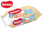 Huggies Pure Baby Wipes Natural Absorbent Gentle Total 56 Wipes