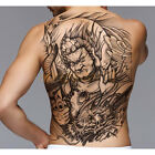 Temporary Big Large Tattoo Sticker Full Back Dragon Tiger Pattern Body Art Decal $4.99 USD