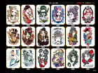 Colorful Pattern Flash Temporary Tattoo Stickers Temporary Oil Painting Body Art $0.99 USD on eBay