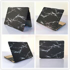 "Black Marble Matt Hard Case Cover Thin Shell for MacBook 12"" Air Pro 11""13""15"""