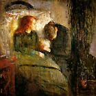 THE SICK CHILD MOTHER'S GRIEF DISEASE 1885 PAINTING BY EDVARD MUNCH REPRO
