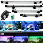 NEW Submersible LED Light Bar Lamp 5050 SMD RGB Colour for Aquarium Fish Tank UK