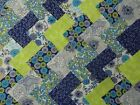 FLORAL SKETCH ~ COTTON FABRIC PATCHWORK SQUARES PIECES CHARM PACK 2 4 5 INCH