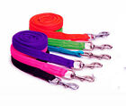 CUSHIONED WEB PADDED LEAD REIN  / LEADROPE - BLACK, PURPLE / BLK, NAVY/RED, PINK