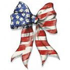 American Flag Bow Shirt, Patriotic Holiday, 4th of July, Small - 5X
