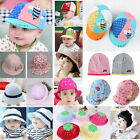 Summer Baby Kids Girls Child Sun Hat Outdoor Baseball Cap Beret Mesh Cotton Cozy