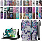 "For Apple iPhone 7 Plus 5.5"" ID Card Leather Flip Wallet Cover Case Stand + Pen"