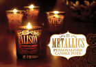 H&H Metallics Personalised Names Candle Pots - Misc / Generic / Family Titles