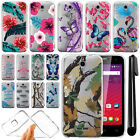 For Alcatel OneTouch Elevate 4037V 5017E Ultra Thin Clear TPU Case Cover + Pen