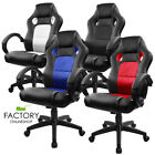 Executive Swivel Racing Office Chair High Back Computer Desk Seat