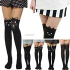 Overknee Tattoo Stocking Stitching Sheer Pantyhose B20E Mock Tight 7Type01