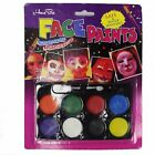 Halloween Party Props Savage Tribal Totem Tattoo Floral Face 8 Colors Face Paint