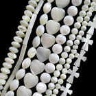 Wholesale Carved Mixed Shape Shell Loose Bead 15.5 inch YY-11103
