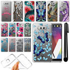 For LG V20 VS995 H990 LS997 H918 US996 Ultra Thin Clear Gel TPU Case Cover + Pen