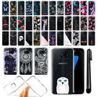 For Samsung Galaxy S7 Edge G935 Ultra Thin Clear Soft Gel TPU Case Cover + Pen