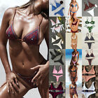 Women Triangle Bikini Bra Swimwear Set Swimsuit Bathing Suit Beachwear Sexy Hot