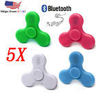 Lot 5X Fidget Spinner with LED Lights USB Charging Bluetooth Speaker Wholesale