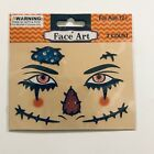 Stick-On Face Art Tattoo Sticker Glittery You Choose Newly Added Day of The Dead
