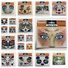 Stick-On Face Art Tattoo Sticker Glittery Your Choice Butterfly Goddess & More!