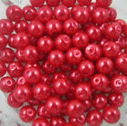 Promotion 4mm/6mm/8mm/10mm Wholesale Glass Pearl Round Spacer Loose Beads