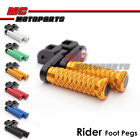 MC POLE 40mm CNC Adjustable Foot Pegs For Buell 1125R All Year