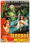 """CREATURE WALKS AMONG US 1956 Black Lagoon = POSTER CHOOSE FROM 7 SIZES 19"""" - 36"""""""