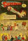 """SUPERMAN 1939 First Page ROCKETSHIP = POSTER = Not Comic Book 7 SIZES 19"""" - 36"""""""