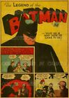 """LEGEND OF THE BATMAN 1940 #1 First Page =POSTER Not Comic Book 7 SIZES 19"""" - 36"""""""