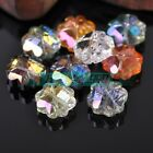5pcs 16mm Four Heart Faceted Crystal Glass Loose Spacer Beads DIY Findings