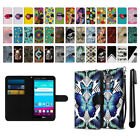 For LG G4 H815 F500 VS986 H810 Ultra Slim Canvas Wallet Pouch Case Cover + Pen