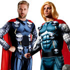 Thor Mens Fancy Dress Comic Book Day Avengers Assemble Superhero Adults Costumes