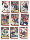 1993-94 UPPER DECK FLORIDA PANTHERS Select from LIST SERIES 2 HOCKEY CARDS