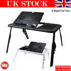 Vintage Portable Laptop Desk Lazy Table Stand Lap Sofa Bed Computer Notebook HOT