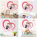 Warm Lovers Dolphin Environmental Protection Animal Deroc Wall Bedroom Stickers
