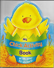 NEW CHICK Activity Book_64 pgs_Ages 4-8_Coloring, Games, Mazes, Stickers & Dots