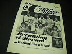 CROWN HEIGHTS AFFAIR are DREAMING A DREAM 1975 Soul PROMO DISPLAY AD mint cond
