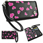 Luxury Card Wallet Wrist Purse Strap Bag Case Cover for Samsung Galaxy Note 5