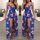Women's-Summer-Bandage-Bodycon-Evening-Party-Cocktail-Club-Mini-Dress Jumpsuit
