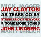 JAY CLAYTON/JOHN LINDBERG - AS TEARS GO BY & SOME MORE SONGS USED - VERY GOOD CD