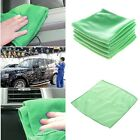 5/10 Pcs Lot Microfiber Car Cleaning Towel Cloth 25cm Kitchen Washing Polish Set