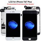 For iPhone7 7 Plus LCD Screen Replacement Digitizer w/Front Camera Ear Speaker