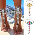 US Fashion Womens Chain Anklet Ankle Bracelet Barefoot Sandal Beach Foot Jewelry