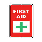 First Aid Plus Sign Activity Sign Campground Signs Parksign Aluminum METAL Sign $19.99 USD