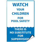 Watch Your Children For Pool Safety Activity Sign LABEL DECAL STICKER $9.99 USD on eBay