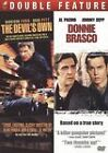 Donnie Brasco/The Devils Own (DVD, 2009, 2-Disc Set) Ford, Pitt, Pacino,   NEW