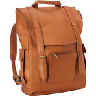 Le Donne Leather Classic Laptop Backpack 3 Colors Business & Laptop Backpack NEW