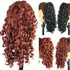 Claw Thick Wavy Curly Ponytail Layered Wavy Clip In On Hair Extensions