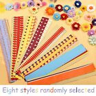 1 Bag Flower Quilling Paper Strips Colorful Origami DIY Paper Hand Craft DIY